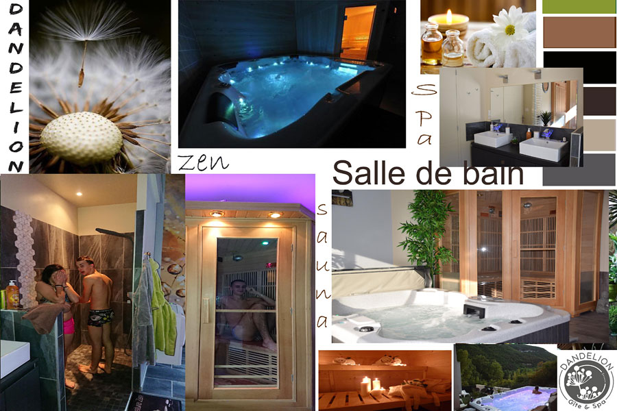 ecolodge bulles chambre avec jacuzzi privatif sauna piscine spa de nage gorges du tarn aveyron. Black Bedroom Furniture Sets. Home Design Ideas